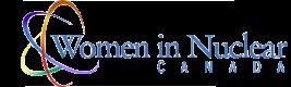 Logo, Women in Nuclear Canada.